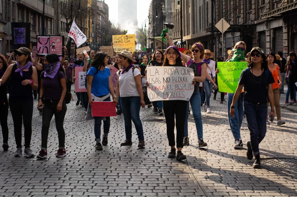 Marcha Día Internacional de la Mujer. Ciudad de México 08 marzo 2020 | Foto: Nede Moguel