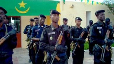 الرطة الوطنية الموريتانية