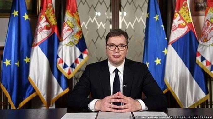 Vučićevo obraćanje naciji