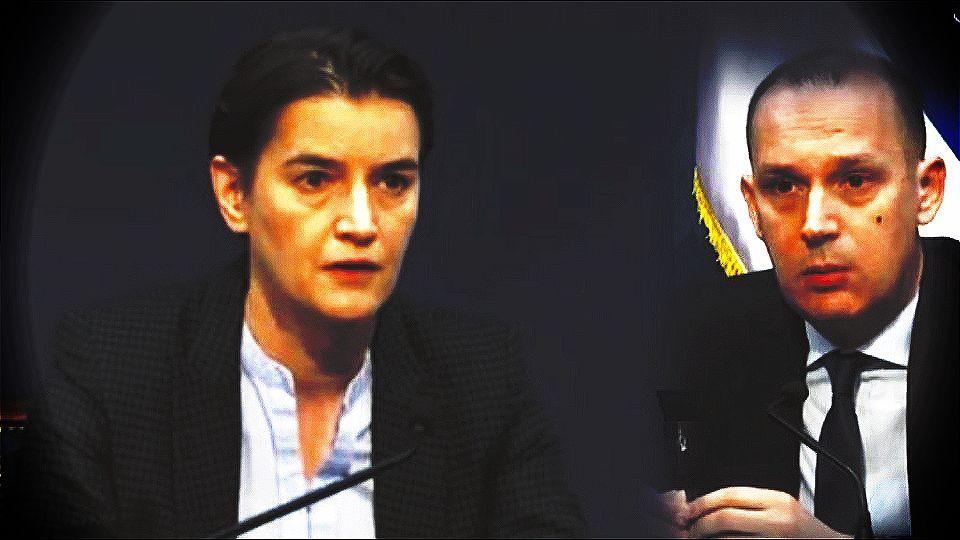 """Da li je Lončar """"nestao"""" zbog nesolidarisanja sa premijerkom u njenom besnom nastupu prema novinarima"""
