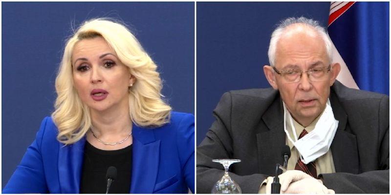 Kisić Tepavčević: Cilj SMS poruka nije bio da se širi panika; Kon: Nemam nameru uopšte da se pravdam