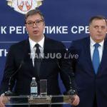 Vučić se sastao sa Dodikom: Neće biti izuzetka za Vaskrs, pozvaću opet patrijarha (VIDEO)