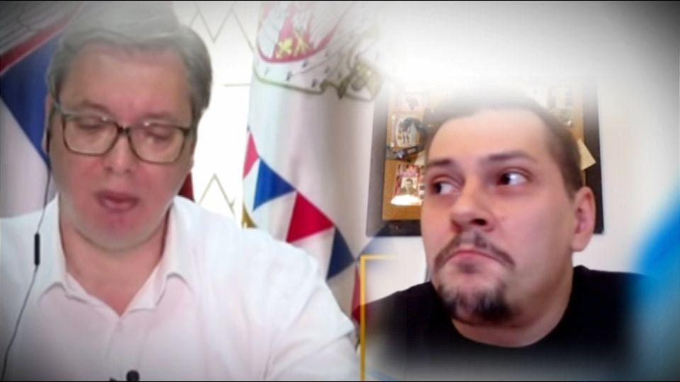 Marčelo: Ja bih da izolujem predsednika. Neće da se testira i ide sa svitom po Srbiji