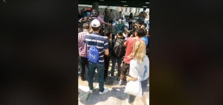 Protest studenata: Domove su izgradili naši roditelji, ne pripadaju Vučiću i Vladi, ne mogu nas oni izbacivati
