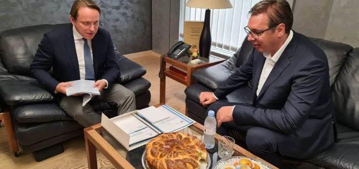 Vučić nakon susreta sa Hotijem: Razgovori nisu bili laki, ali ima napretka