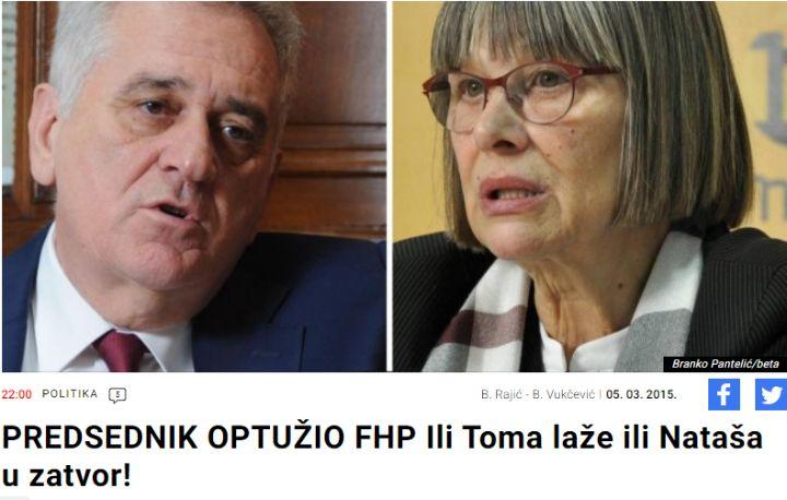 Vučić i Druga Srbija iz Vučićevog svinjca, u zaveri koju svi prećutkuju