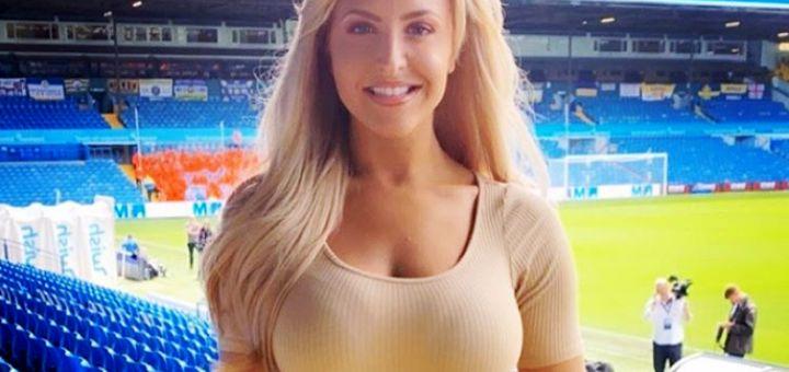 Njene GRUDI su noćna mora za fudbalere, imaju problem da se skoncentrišu: Vratio se Lids, vratila se seksi Ema (FOTO)