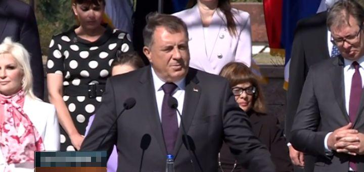 Dodik: Srbi i Hrvati će doneti zajednicku deklaraciju i tražiće da izađu iz BiH; Neće biti rata