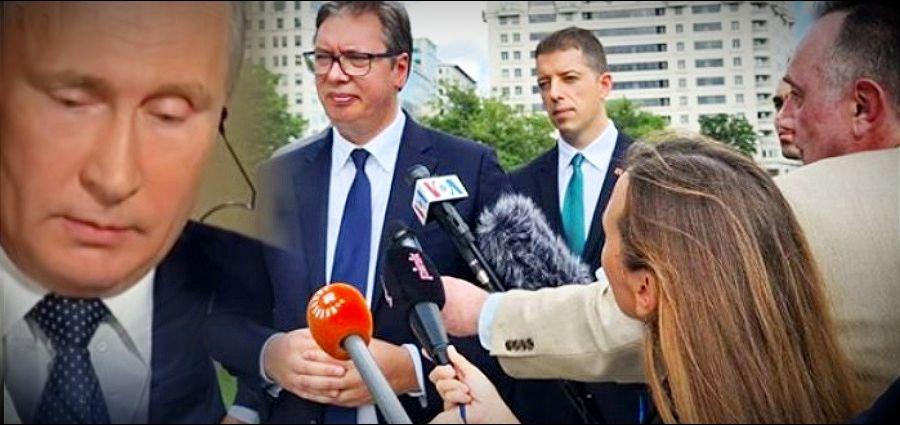 KOMERSANT: Rusija još u junu upozoravala Vučića da sporazum iz Vašingtona može imati ozbiljne geopolitičke posledice