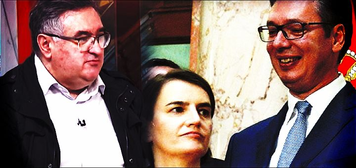 Vukadinović: Ana Brnabić je izabrana jer ni na koji način ne može da ugrozi Vučića