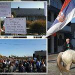 Protest protiv rudnika litijuma: Ne znaju stranci gde su došli, Srbi će da brane svoje domove i svoja sela