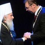 Irinej: Osam godina slušam da Vučić sprema izdaju Kosova, a on je odogovoran državnik