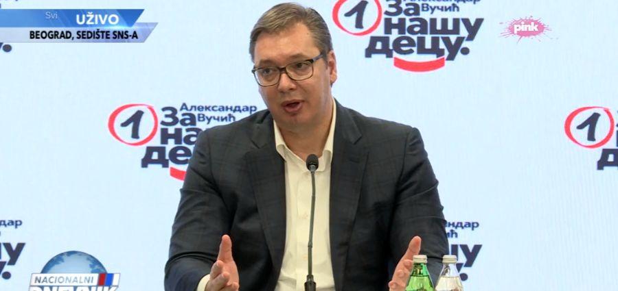 Vučić: Poznata imena funkcionera, parlamentarni izbori zajedno sa predsedničkim najkasnije 3. aprila