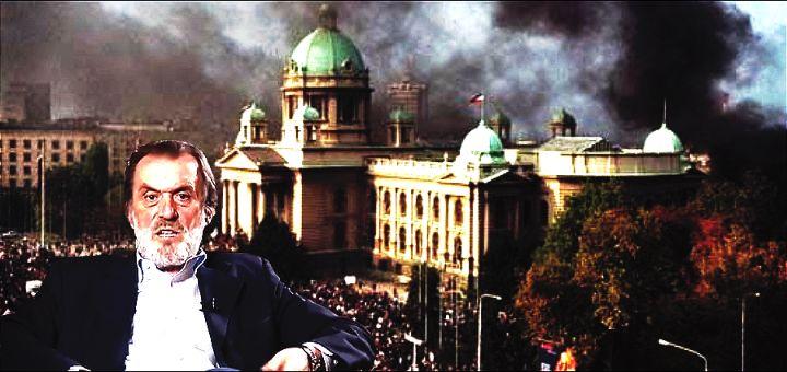 Vuk Drašković: 5. oktobar su izvele Miloševićeve službe bezbednosti i zemunski klan mafijaša i ubica