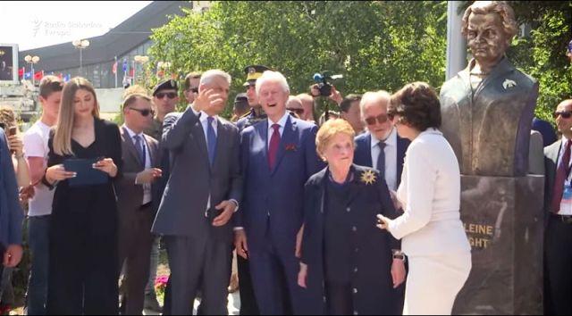 "SVA ZLA MEDLIN OLBRAJT Žena koja je poznata po frazi ""odvratni Srbi"" i zagovaranju agresije protiv Srbije"