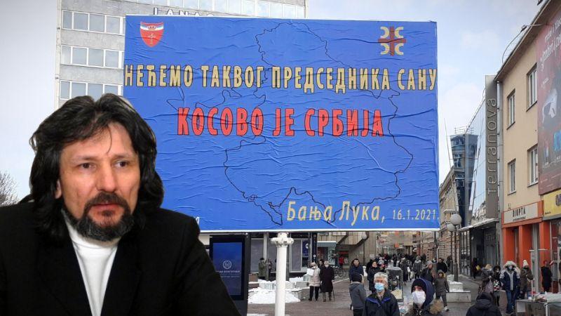 PODRŠKA IZ BANJALUKE PROTESTIMA ISPRED SANU Čanković: Kostić da podnese ostavku, Kosovo je Srbija