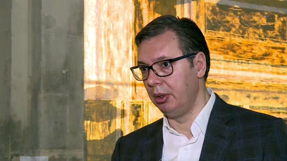 Vučić: Centralna tema razgovora sa Makronom je Kosovo i Metohija