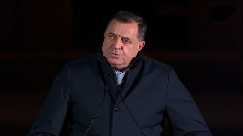Dodik na saslušanju zbog ikone