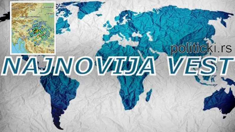Novi jak zemljotres u Hrvatskoj, 45 kilometara od Zagreba: Treslo se 10 sekundi!