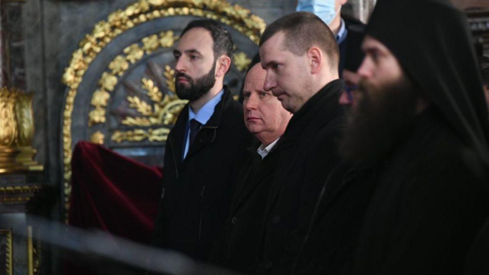 Mlađan Đorđević JEDINI iz opozicije na ustoličenju novog patrijarha