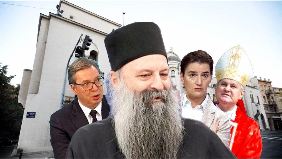 Porfirije – kandidat Hrvatske za srpskog patrijarha! Za njega su Stepinac i Sveti Sava jedno te isto!