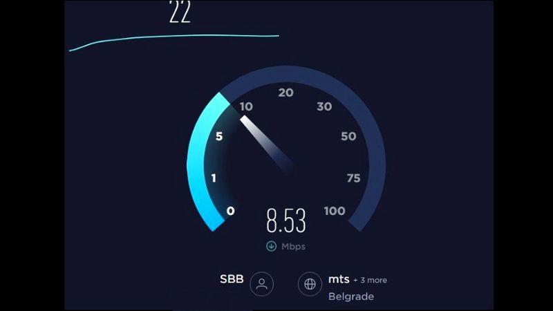 Sumnjate u brzinu kućnog interneta? Ove 4 aplikacije će vam pomoći da je proverite u trenutku