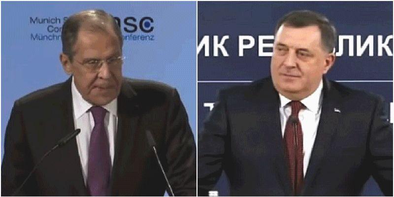 Dodik i Lavrov saglasni: Zatvoriti kancelariju Visokog predstavnika!