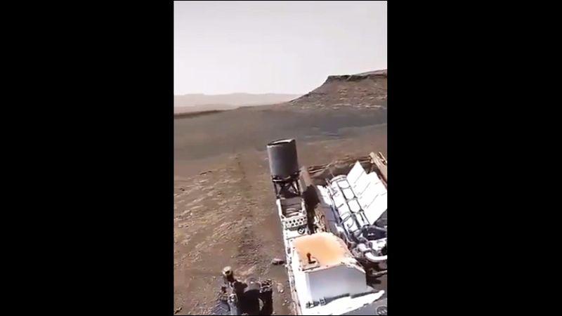 NASA-in rover prvi put vozio površinom Marsa