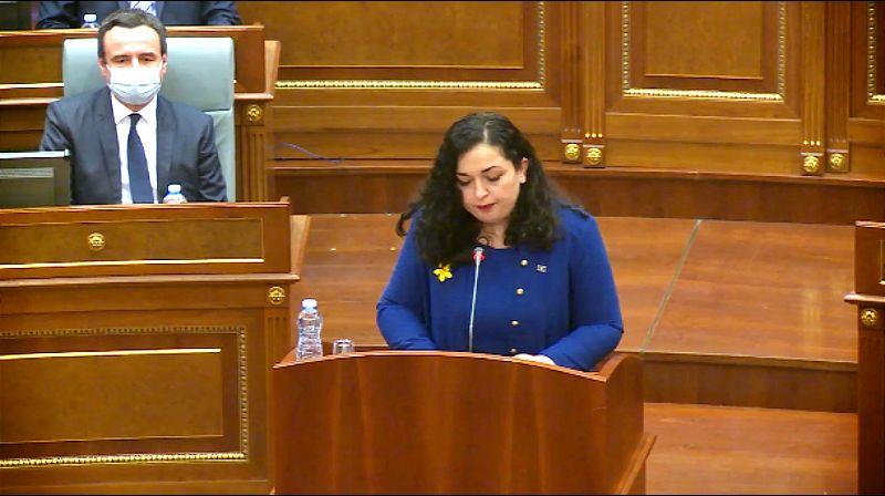 Osmani izabrana za novu predsednicu Kosova
