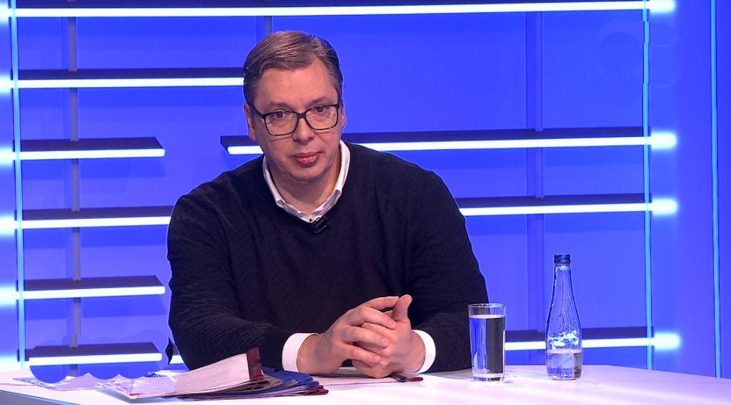 Vučić zadovoljan razgovorom sa Stoltenbergom, o kosovskim liderima posle Brdo-Brioni: Ti ljudi žive u '99 i potpunoj euforiji sredine 2000-ih