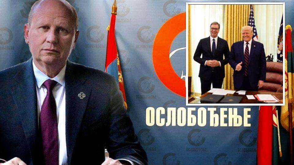 Đorđević: Vučićevo kockanje s Trampom skupo će koštati Srbiju! Ambasada SAD otvoreno traži priznanje Kosova.