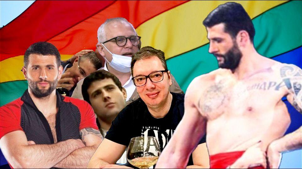 Aleksandar Šapić: Od Gangule do gej ikone i nazad, uz primanje Kurca