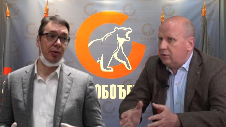 Đorđević: Vučiću iz Čipuljića KiM ne znači ništa! Da li su Vučići bili domobrani? (VIDEO)