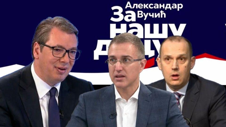 Odbori SNS glasaju o nepoverenju Stefanoviću i Lončaru