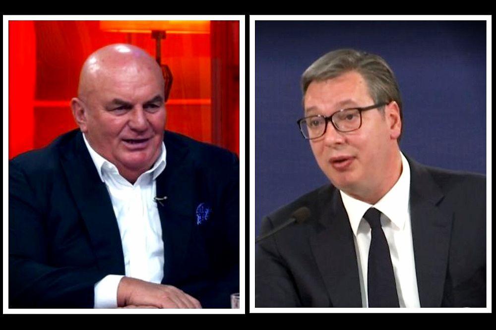 Vućić: Ako je Dragan Marković Palma kriv, niko ga neće štititi