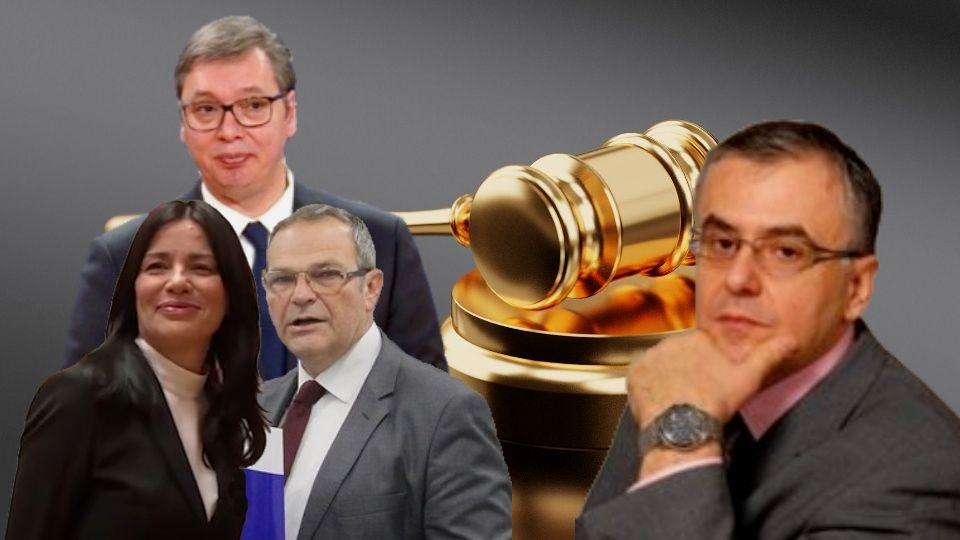 Fatić: Prilika za Jasminu Vasović i Borivoja Papa da ostave svetao i častan trag za svoju decu, svoju porodicu. Nije samo Vučić kriv za pravosuđe