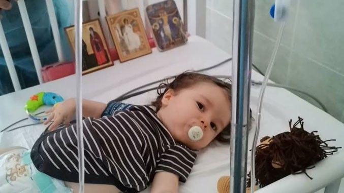 Mali Gavrilo Đurđević primio lek u Budimpešti