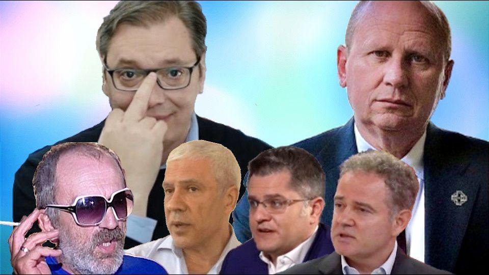 Đorđević čestitao Vučiću: Poslavši GOVEDARA da pregovara sa bivšim predsednikom Srbije i bivšim predsedavajućim GS UN je genijalan način da ih PONIZIŠ. Svaka čast!