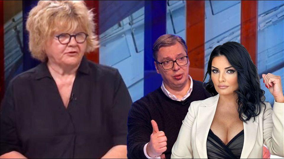 Rada Trajković: Uloga Milene Popović je da zaštiti Vučića od istrage
