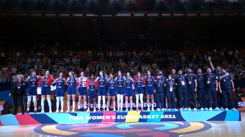 Košarkašicama Srbije po 20.000 evra za osvajanje Evropskog prvenstva