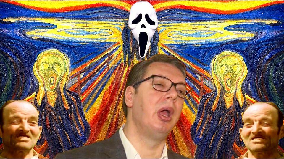 Ko to tamo ruši Vučića? Mesija sam sebe eliminiše mesijanskim ludilom.