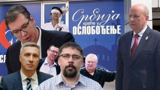 Čankov Kostreš i Obradović odbili Đorđevićev poziv na dogovor o NAPADANJU Vučića i lažne opozicije