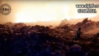 Dramatični snimci iz Vinče: Požar guta sve pred sobom