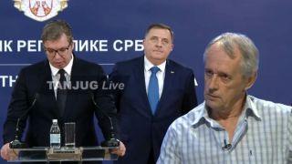 Vasić: Vučić jeste SUMANUT, treba ga IZMARŠIRATI iz Republike Srpske