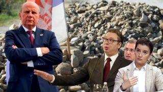 Đorđević: Dok su Srbi na barikadama, Vučić je u Mađarskoj, Brnabić u SAD, a Stefanović se sakrio u mišjoj rupi!