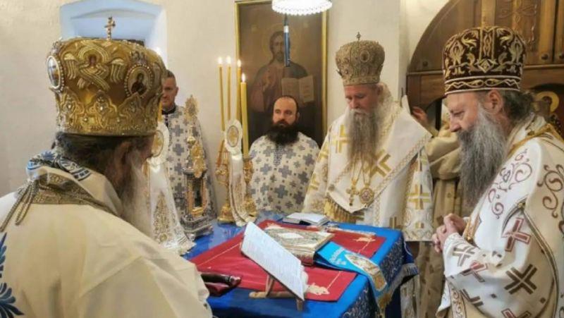 Moskovska patrijaršija: Naredbodavci nereda na Cetinju su u inostranstvu