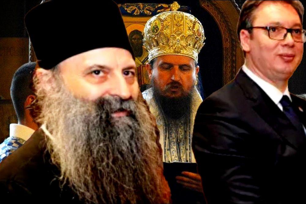 """Patrijarh mora da se ogradi od """"Vučićevog"""" vladike Sergija!"""