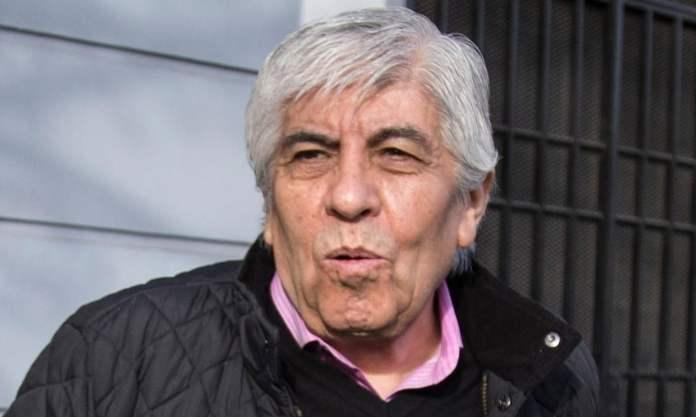 Hugo Moyano anunció que podría adelantar el paro