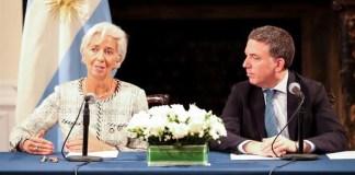 Dujovne y Lagarde sellaron un segundo acuerdo económico