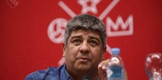Pablo Moyano amenaza con parar y hace una acusación futbolística